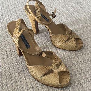 Ralph Lauren snakeskin sandals